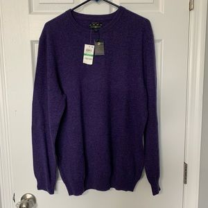 New Club Room Cashmere Sweater w tags
